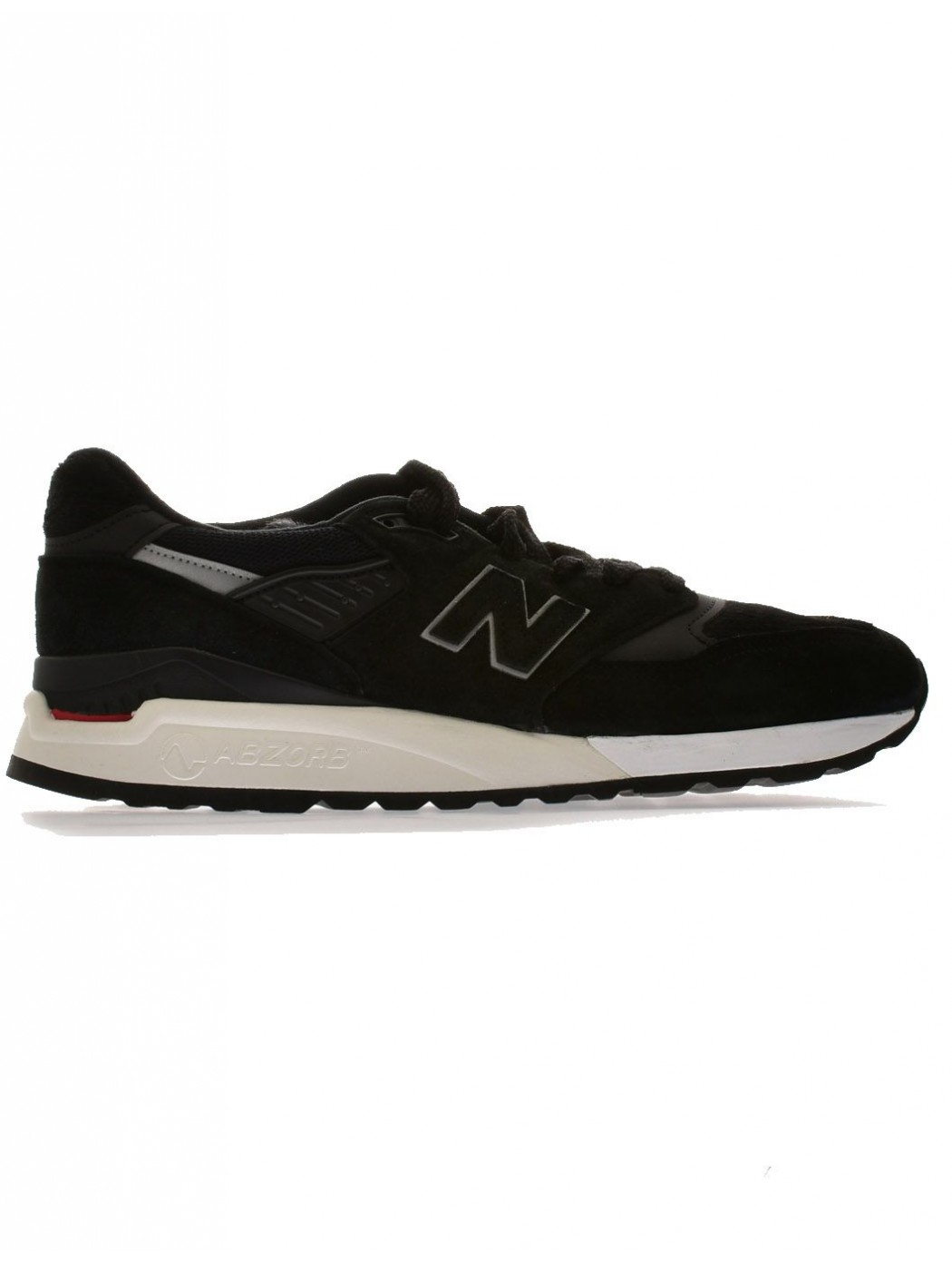 NEW BALLANCE M998 BLACK SNEAKERS