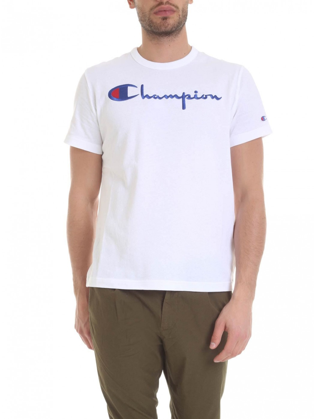 CHAMPION 210972 WHT T-SHIRT