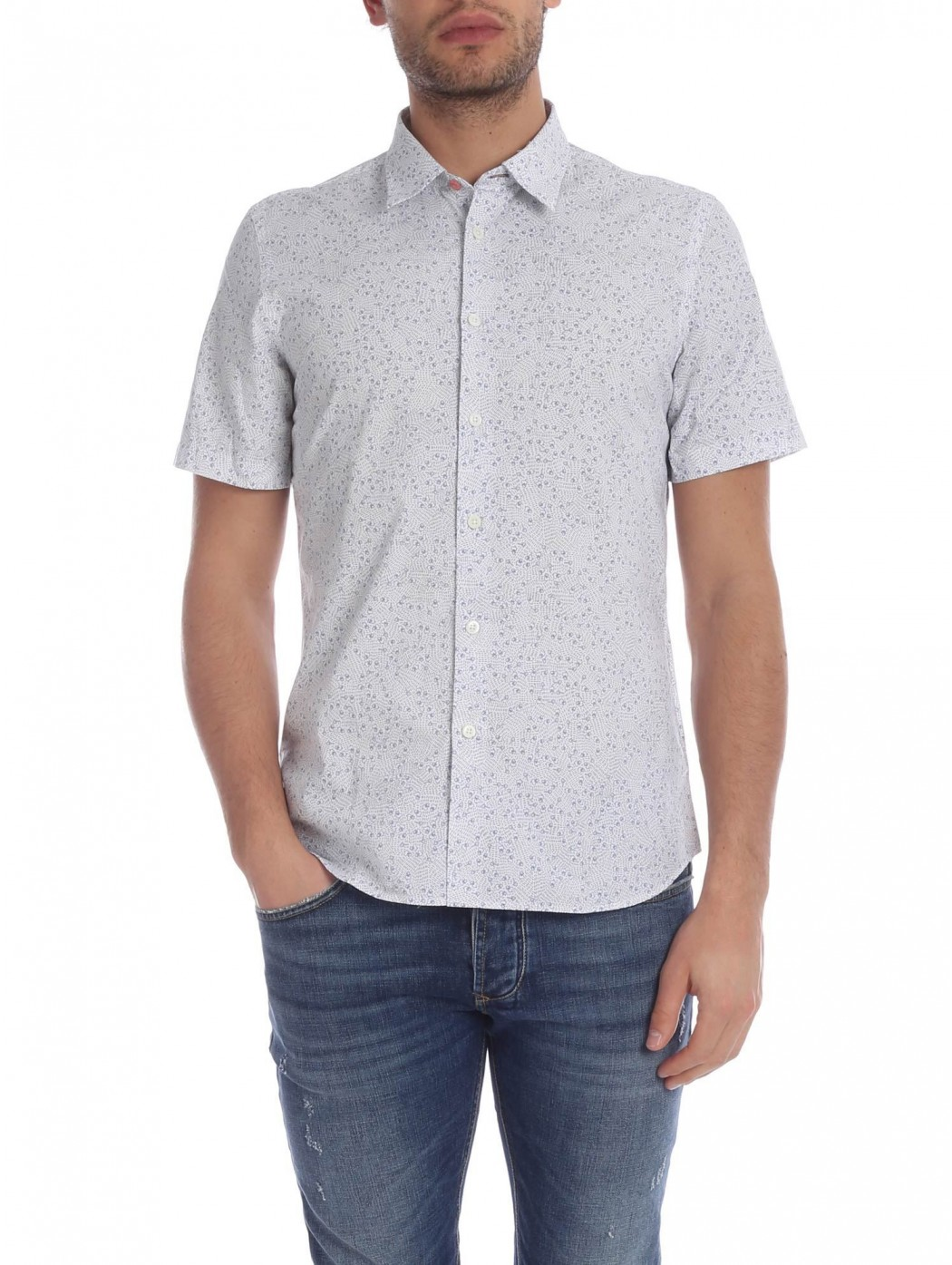 PAUL SMITH M2R 619P 01 T-SHIRT