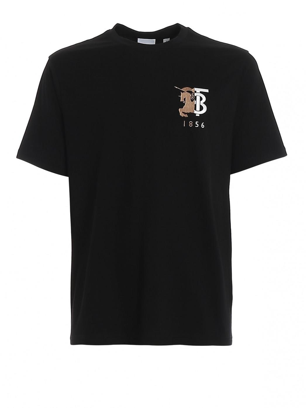 BURBERRY 8023785 Black T-SHIRT