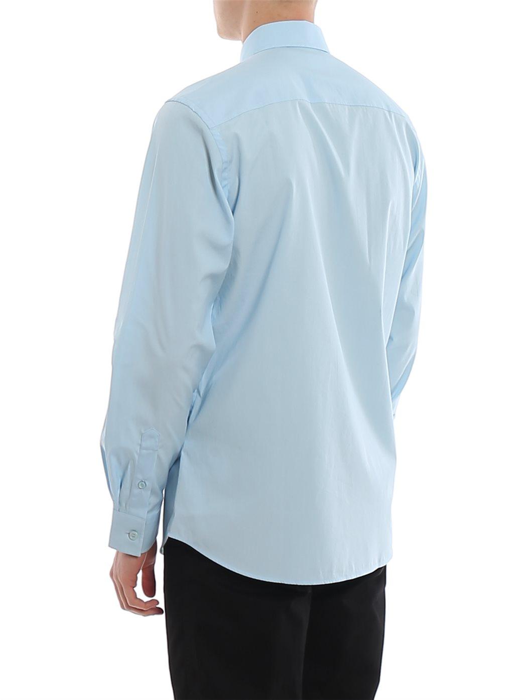 BURBERRY 8024524 Pale-blue CAMICIE