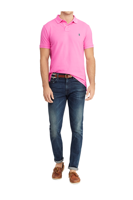 Polo in piquet Slim-Fit 71079