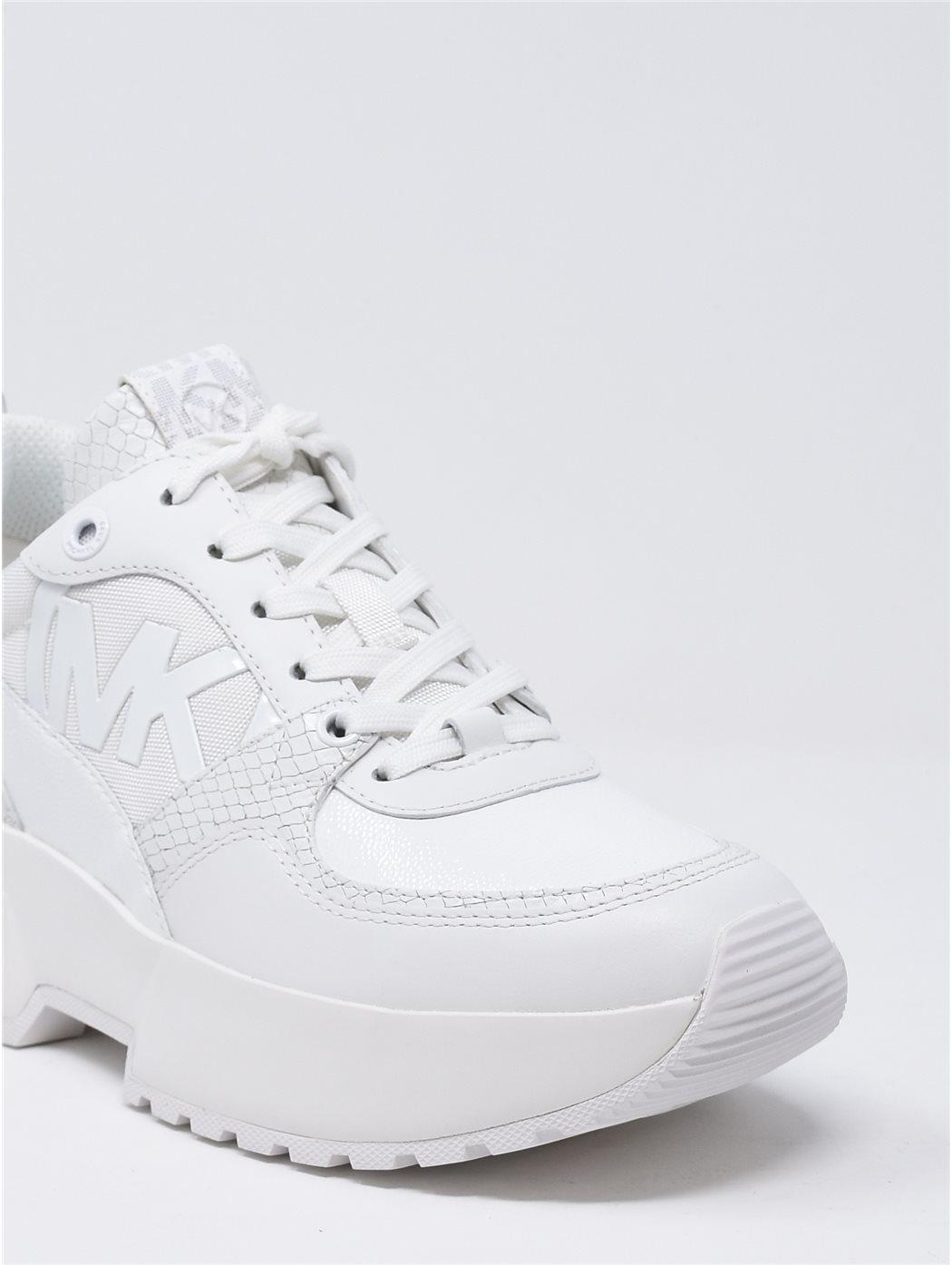 MICHAEL KORS 43R0BL 085-WHITE SNEAKERS