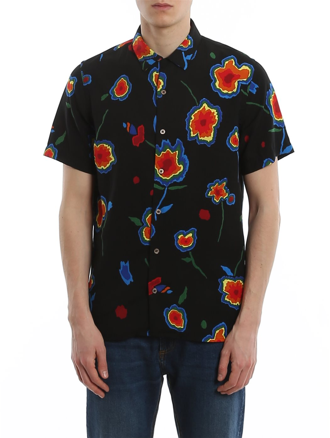 PAUL SMITH M2R-114R 79-BLACK T-SHIRT