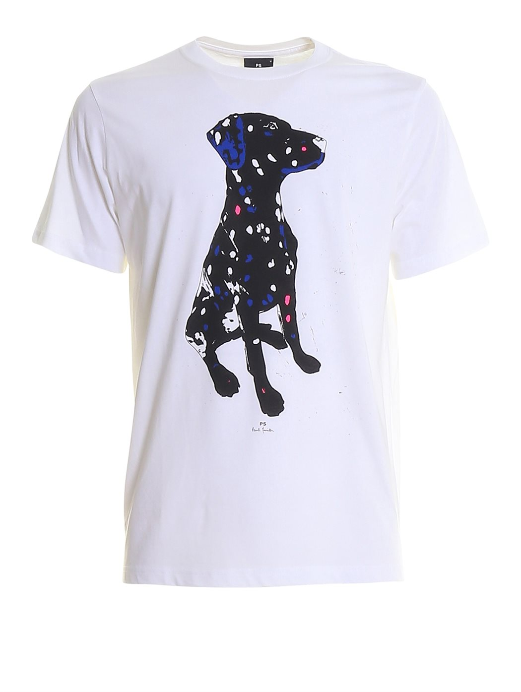 PAUL SMITH M2R-011R 01-WHITE T-SHIRT