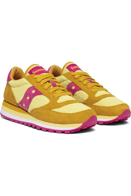 SAUCONY 60497-06 YELLOW-PIN SNEAKERS