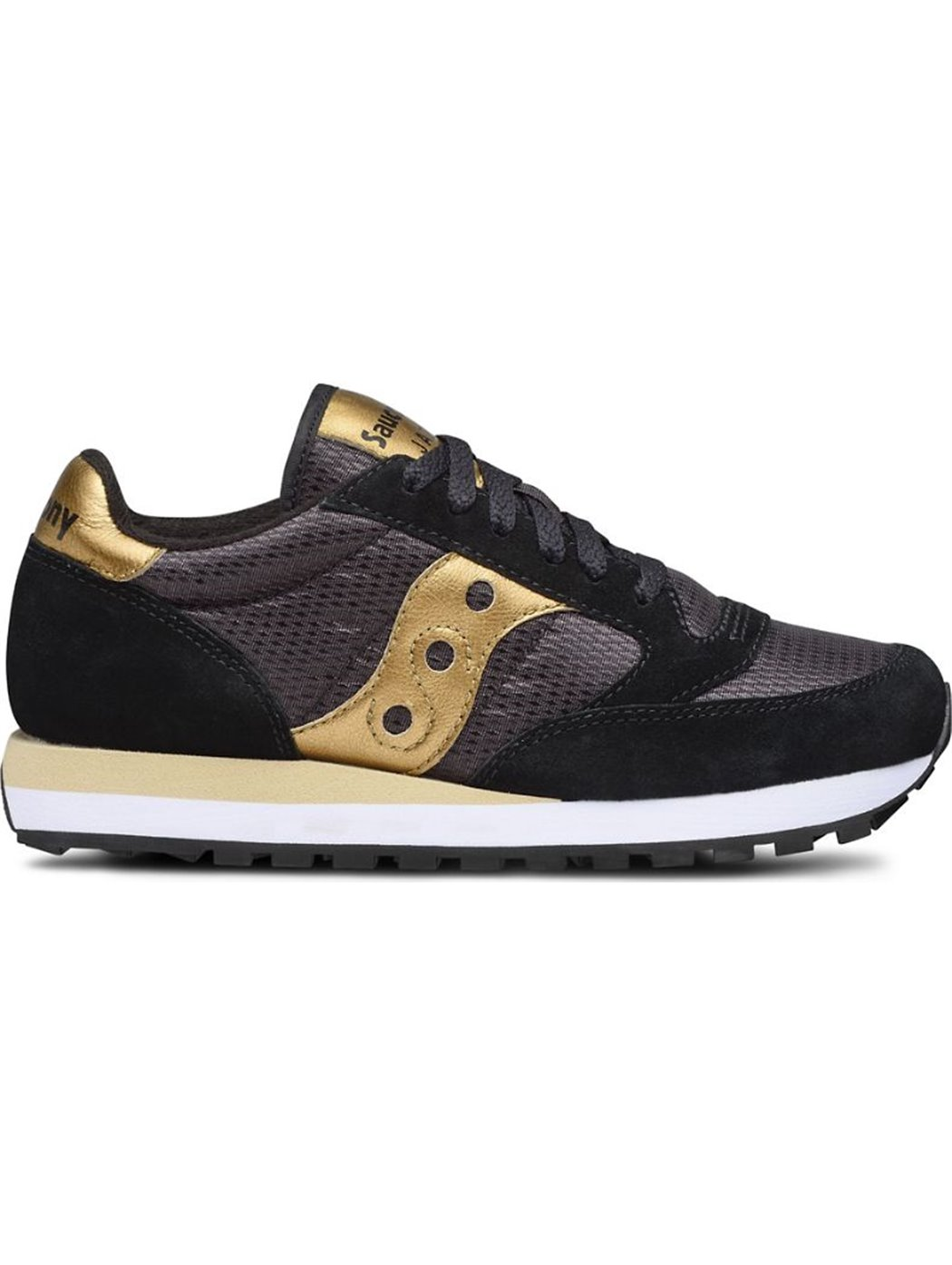 SAUCONY 1044-521 BLACK-GOLD SNEAKERS