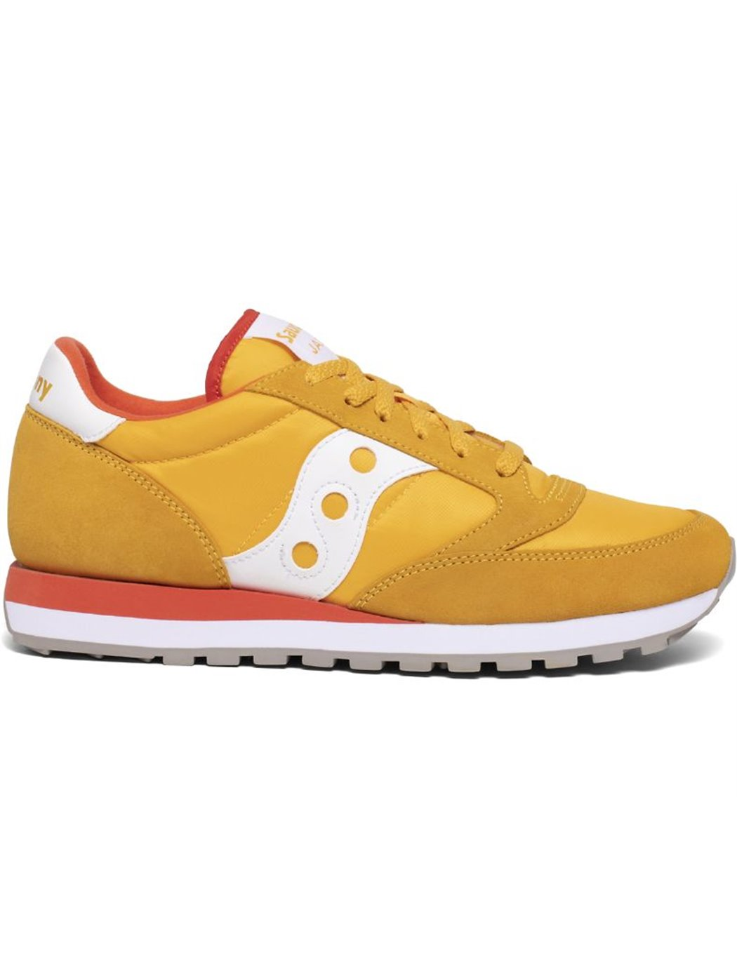 SAUCONY 2044-555 GOLD-RED SNEAKERS
