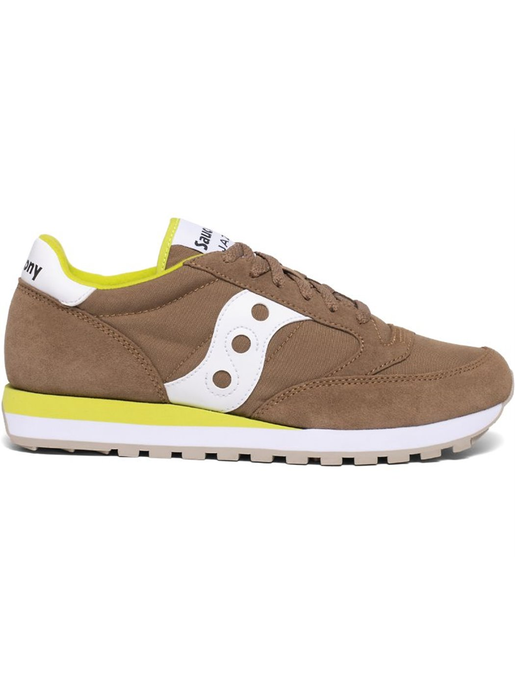 SAUCONY 2044-550 BROWN-GREE SNEAKERS
