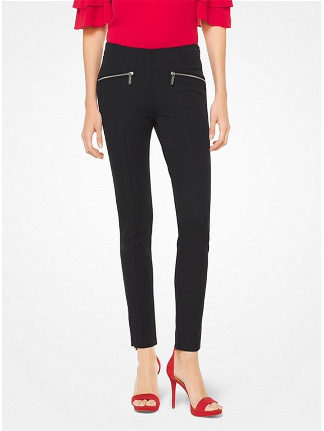 MICHAEL KORS MS83GZ 001-BLACK PANTALONI