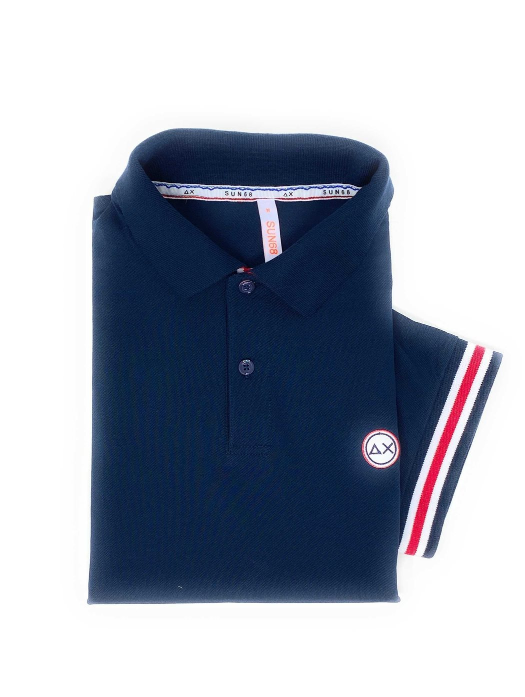 SUN68 a30110 07 navy bl POLO