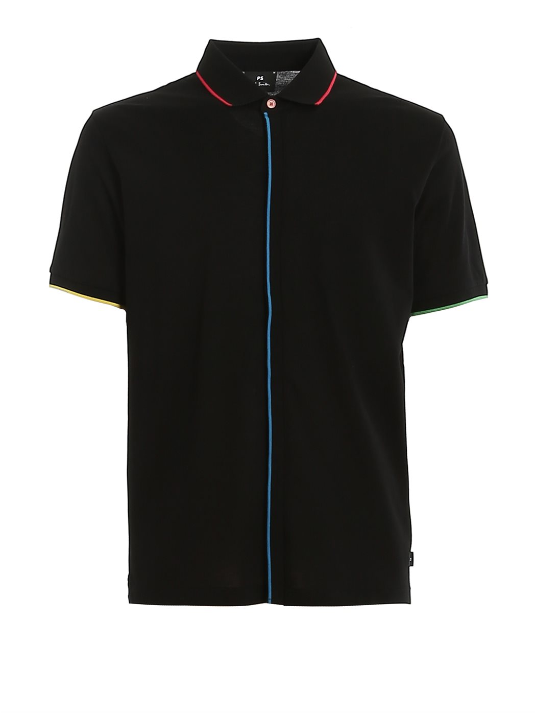 PAUL SMITH M2R-841TT 79-BLACK POLO