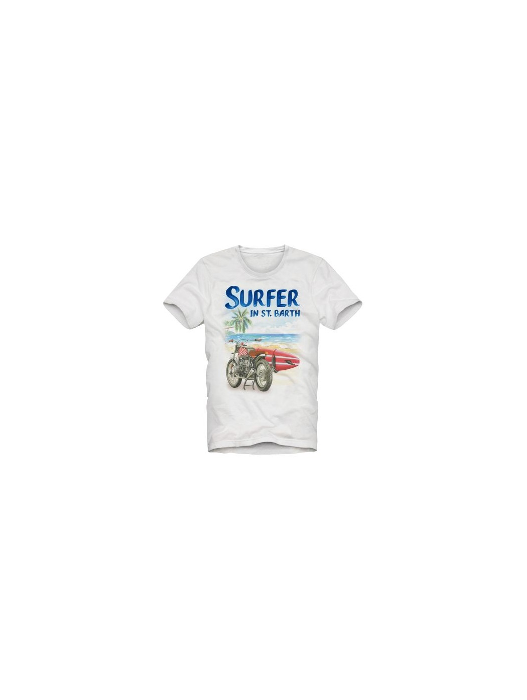 SAINTBARTH MC2 SURFER 01 T-SHIRT