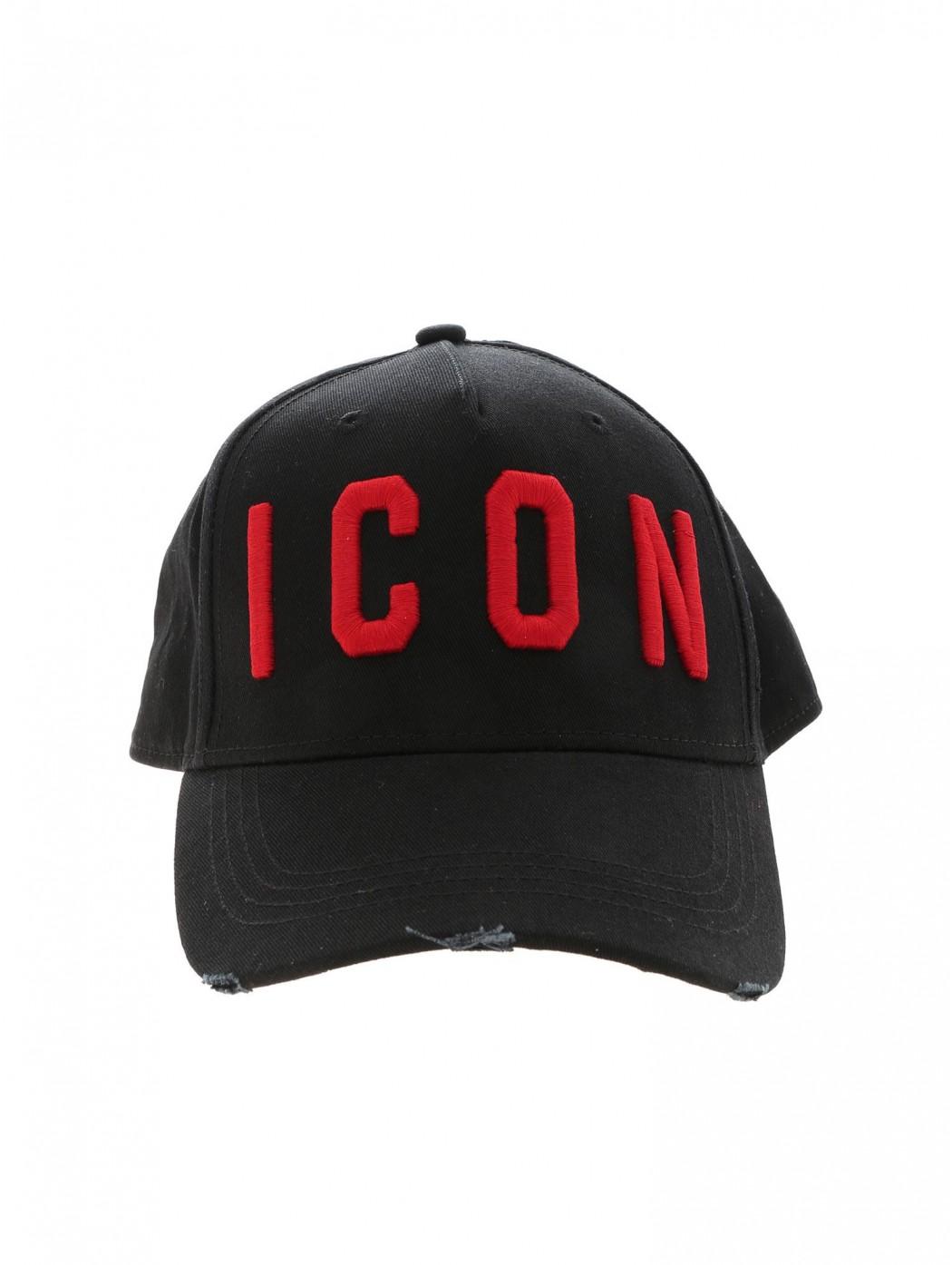 CAPPELLO BASEBALL CAP DSQUARED2 BCM400105C00001 M002