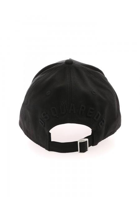CAPPELLO BASEBALL CAP DSQUARED2 BCM400105C00001 M084