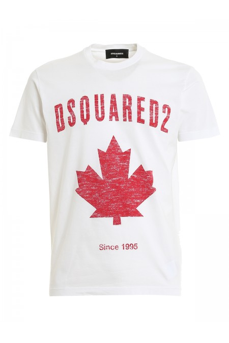 T-shirt con stampa DSQUARED2 S74GD0706S22427 100