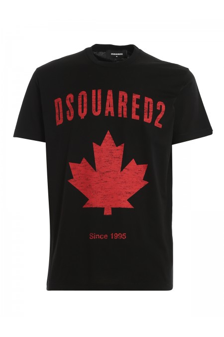 T-shirt Canada con stampa DSQUARED2 S74GD0706S22427 900