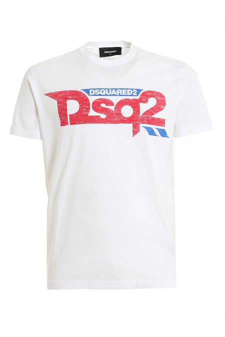 T-shirt con stampa DSQUARED2 S74GD0725S22427 100