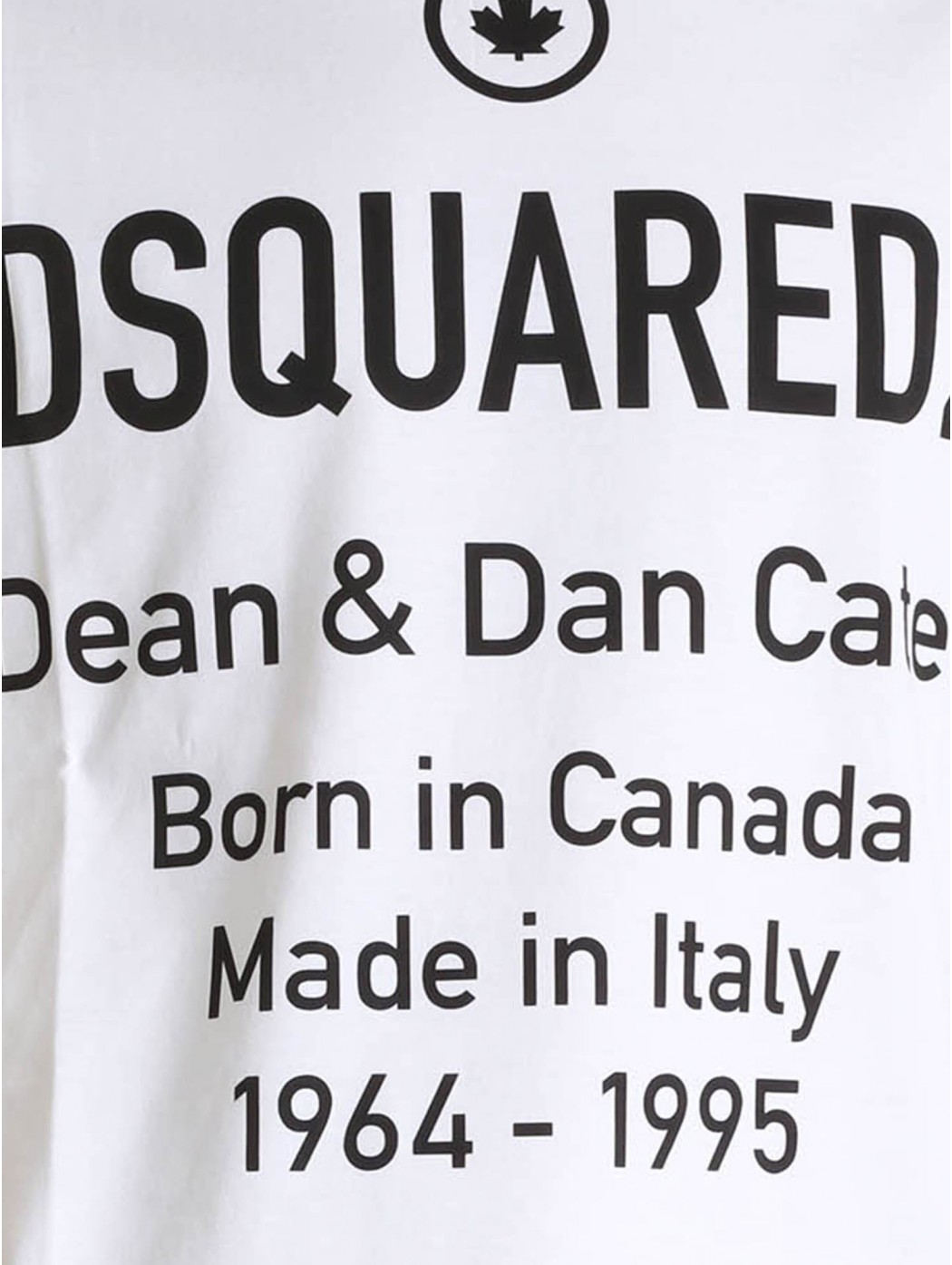 T-SHIRT DSQUARED2 S74GD0746S23009 100