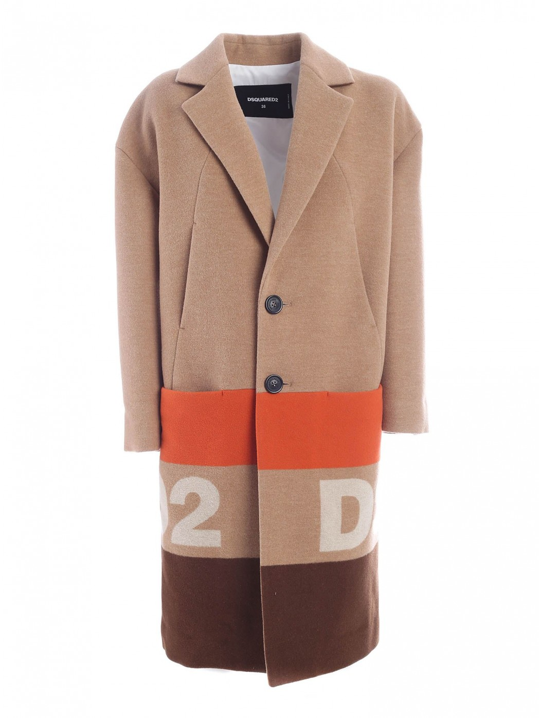 CAPPOTTO JAQUARD DSQUARED2...