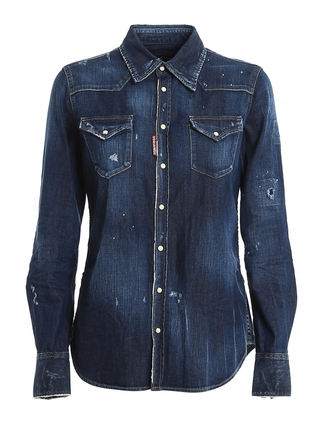 CAMICIA DENIM DSQUARED2 S75DL0742S30341 470