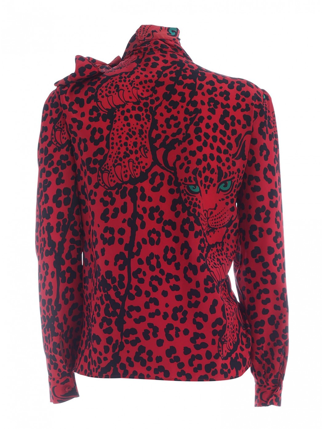 CAMICIA STAMPA LEO PANTHER VALENTINO UR3AB1Y056A 38Z