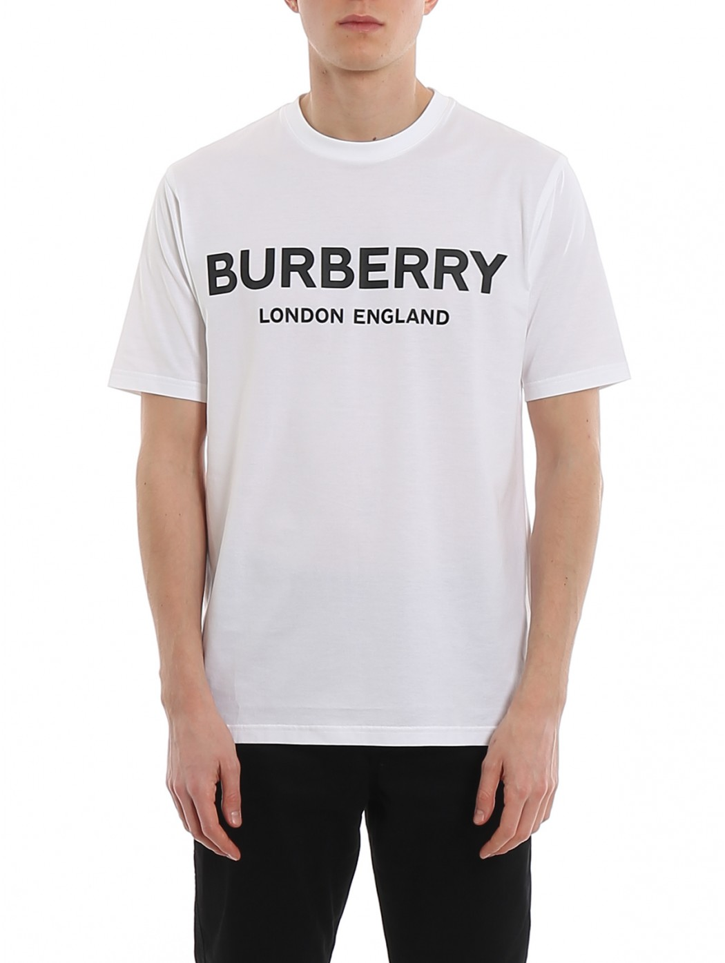 T-SHIRT BURBERRY 8026017M:LETCHFOR WHITE