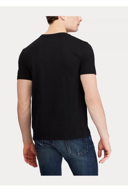 Maglietta in cotone Custom Slim-Fit POLO RALPH LAUREN UOMO 710680785 001