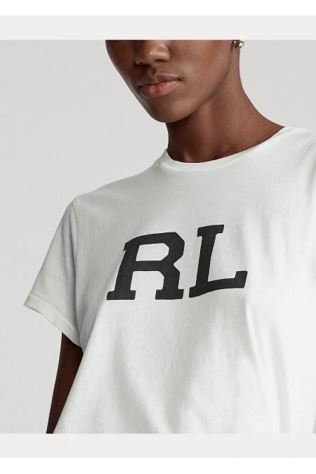 Maglietta in jersey di cotone RL POLO RALPH LAUREN DONNA 211800248 001
