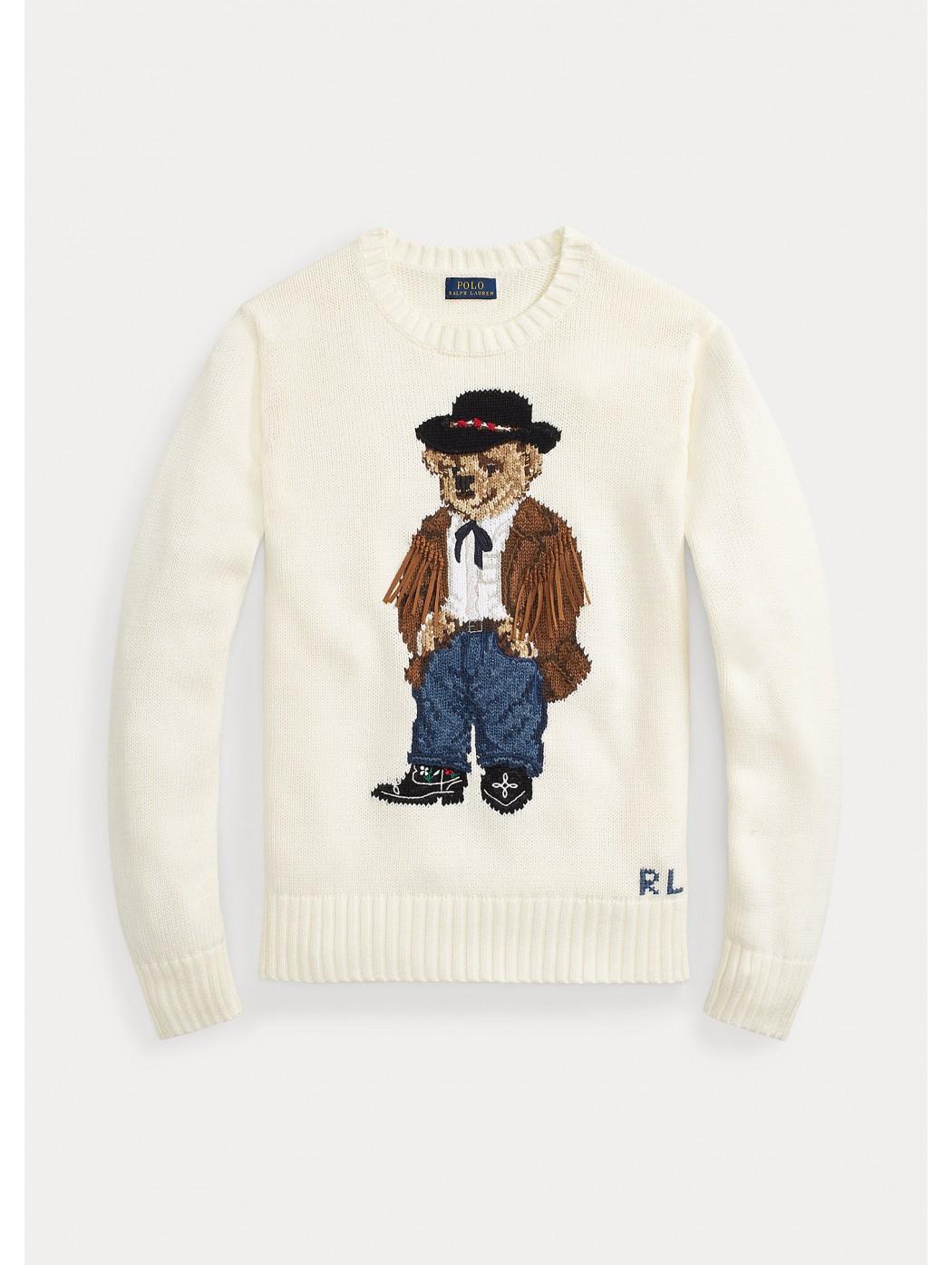 Maglia Cowboy Polo Bear POLO RALPH LAUREN DONNA 211801543 001
