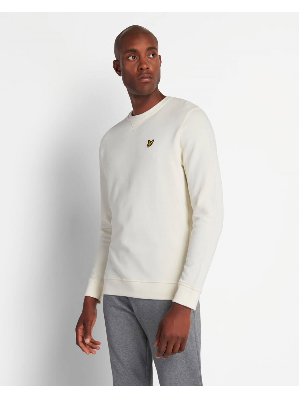 FELPA GIROCOLLO LYLE & SCOTT ML424VTR W120