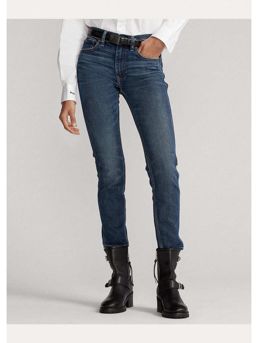 Jeans corti Tompkins skinny POLO RALPH LAUREN DONNA 211799659 001