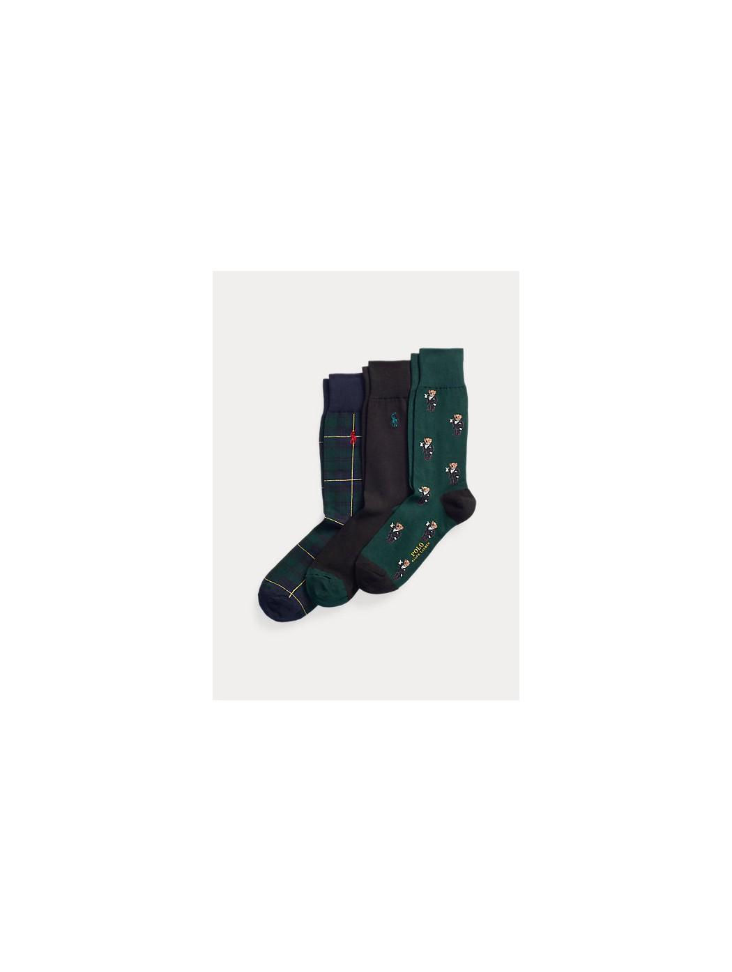 Set regalo di calze sportive Polo Bear POLO RALPH LAUREN UOMO 449824754 001