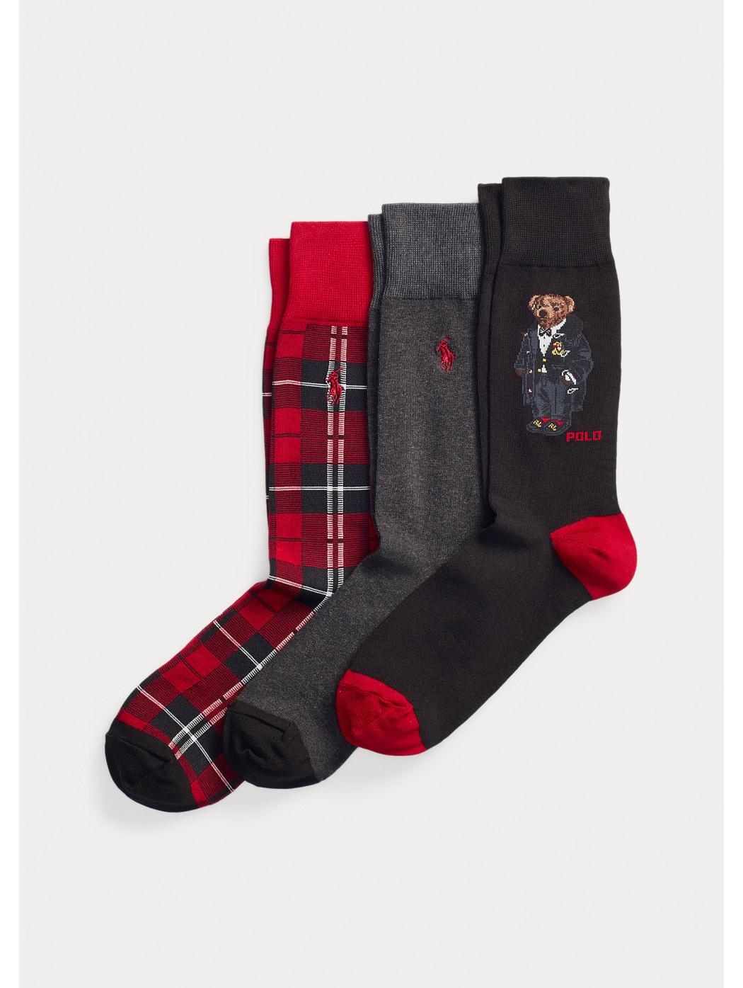 Set regalo di calze sportive Polo Bear POLO RALPH LAUREN UOMO 449824755 001