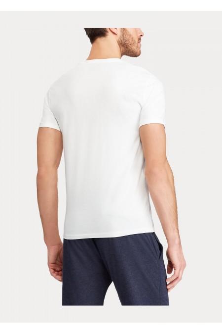 Maglietta in cotone Custom Slim-Fit POLO RALPH LAUREN UOMO 710680785 003