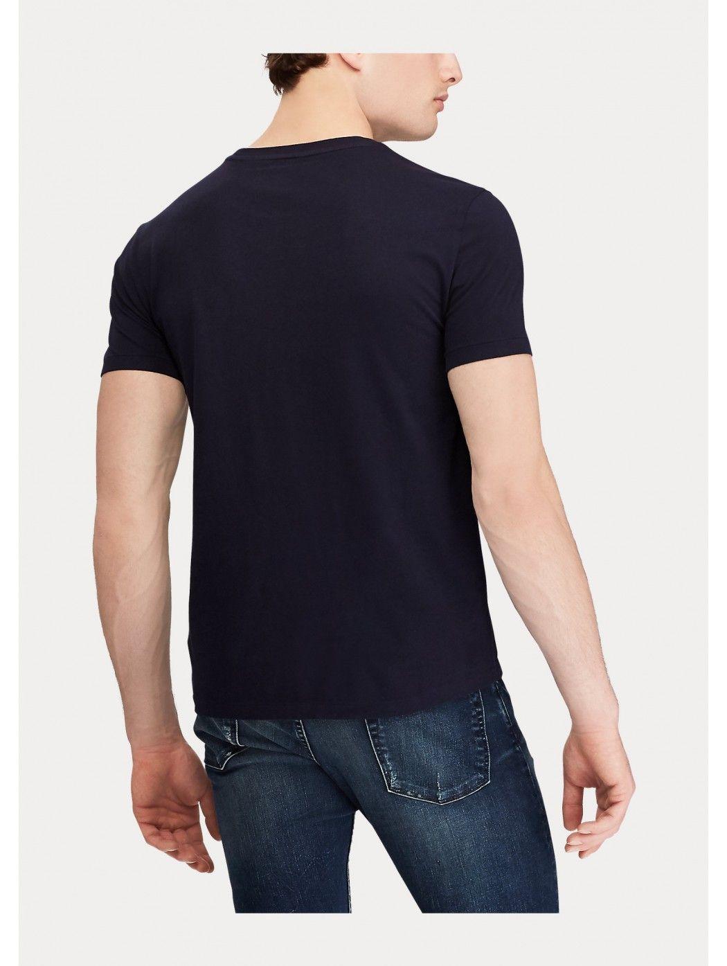 Maglietta in cotone Custom Slim-Fit POLO RALPH LAUREN UOMO 710680785 004