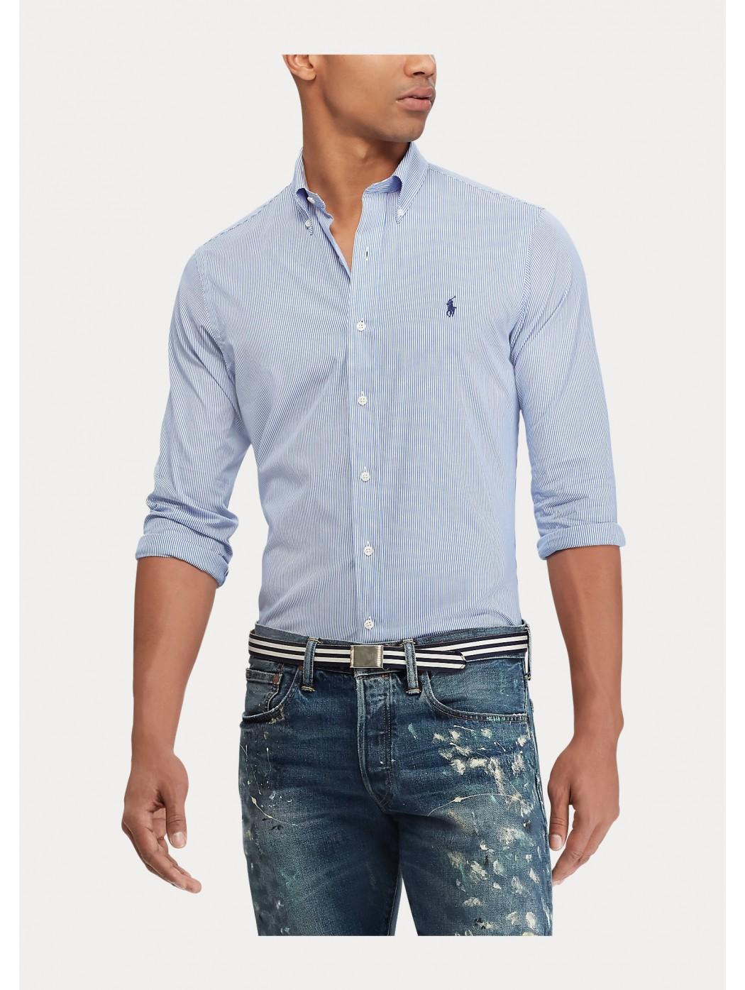 Camicia popeline a righe Slim-Fit POLO RALPH LAUREN UOMO 710705269 003