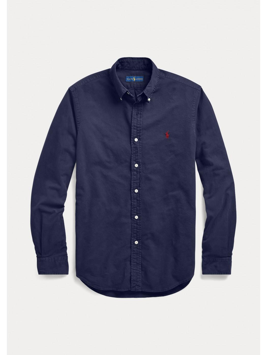 Camicia Oxford Slim-Fit POLO RALPH LAUREN UOMO 710723610 003