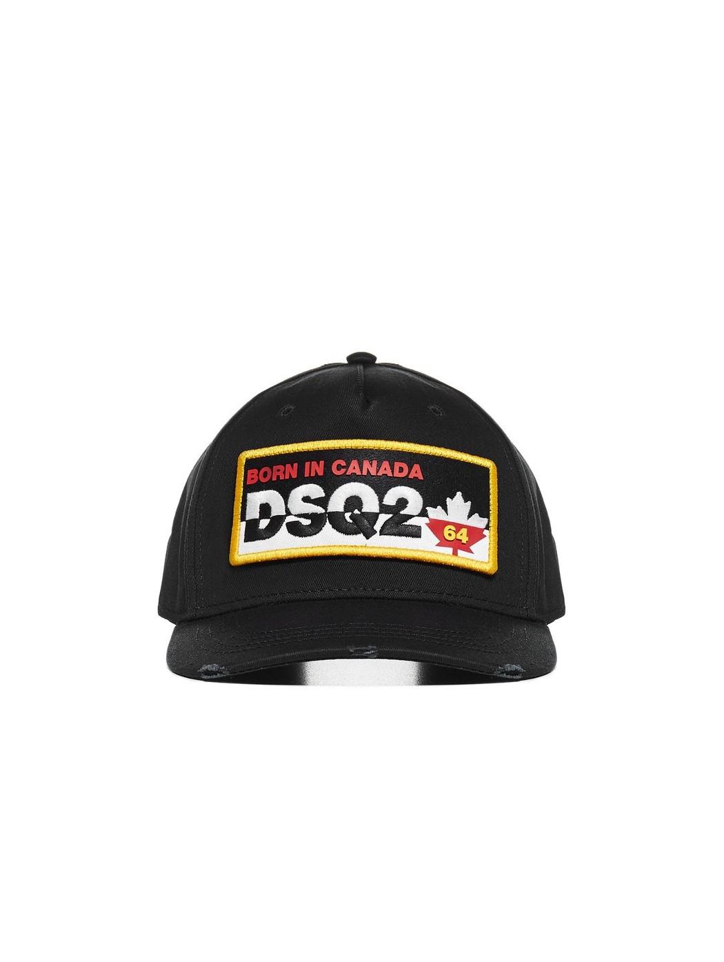 Cappellino da baseball con logo ricamato DSQUARED2 BCM035605C00001 2124