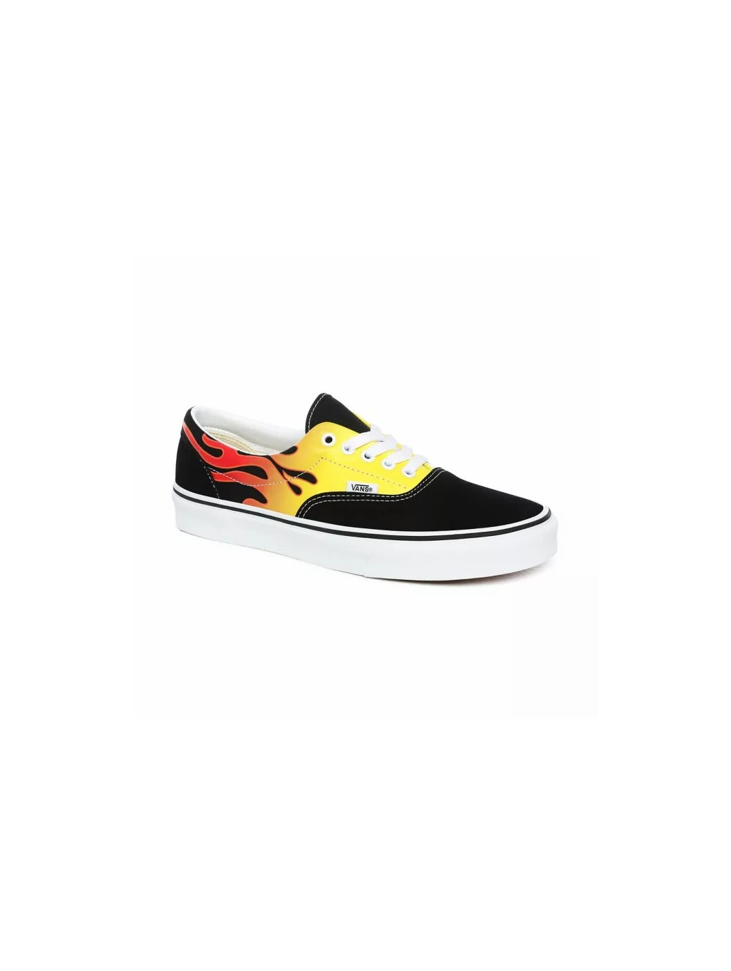 UA ERA FLAME BLACK/TRUE WHITE VANS VN0A4BV4 XEY1