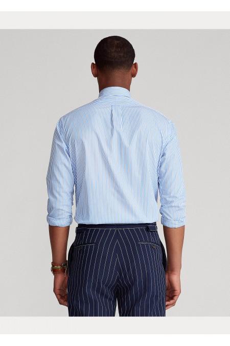 Camicia popeline a righe Slim-Fit POLO RALPH LAUREN UOMO 710818196 004