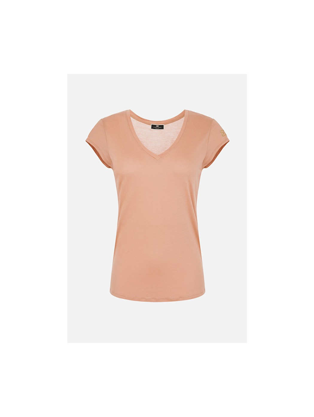 T-shirt Elisabetta Franchi manica corta ELISABETTA  FRANCHI MA00111E2 W71