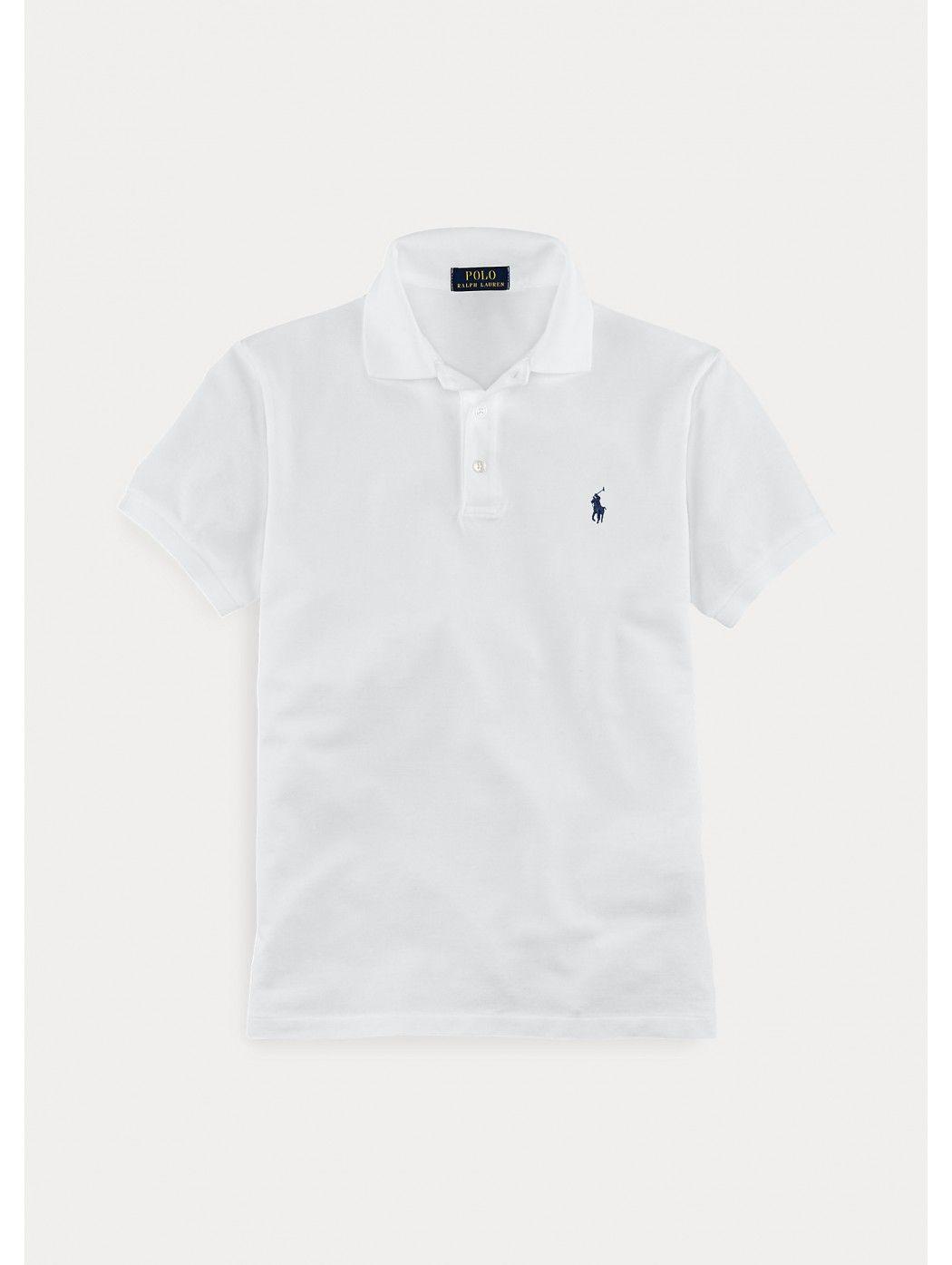Polo in piqu' stretch Slim-Fit POLO RALPH LAUREN UOMO 710541705 008