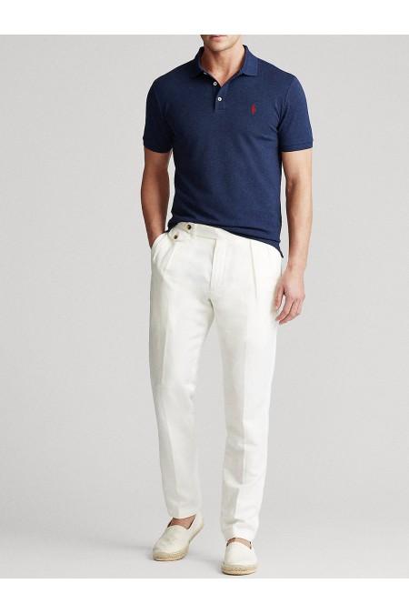 Polo in piqu' stretch Slim-Fit POLO RALPH LAUREN UOMO 710541705 009