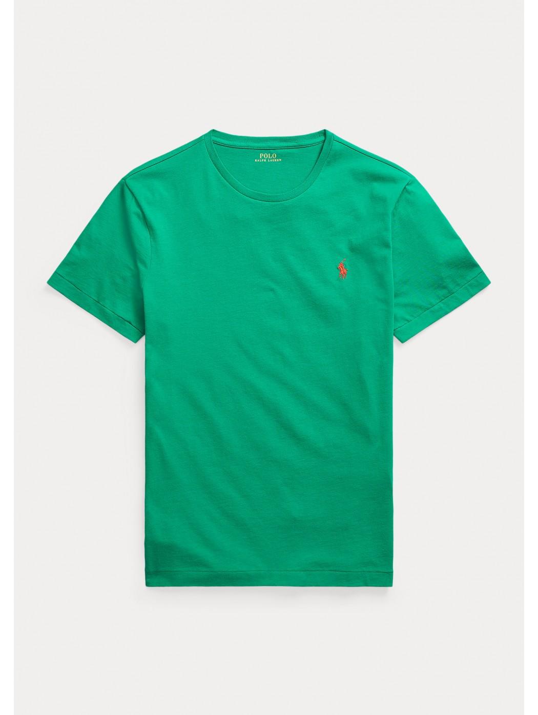 Maglietta in jersey Custom Slim-Fit POLO RALPH LAUREN UOMO 710671438 208