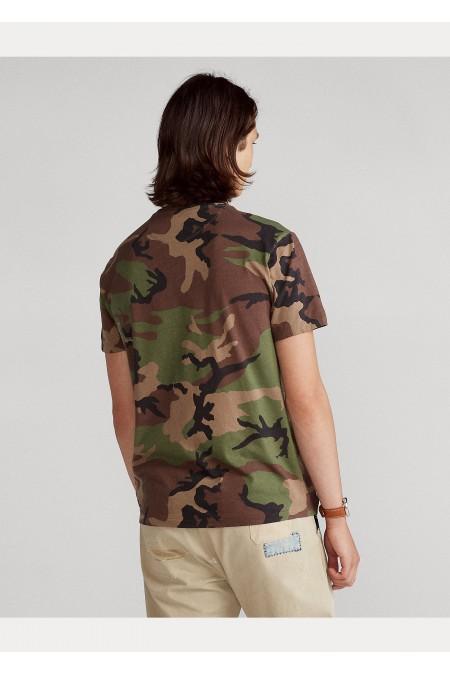 Maglietta in cotone Custom Slim-Fit POLO RALPH LAUREN UOMO 710812948 001