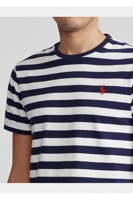 Maglietta in cotone Custom Slim-Fit POLO RALPH LAUREN UOMO 710823560 001