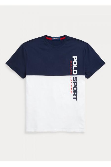 Maglietta in cotone Custom Slim-Fit POLO RALPH LAUREN UOMO 710836761 001