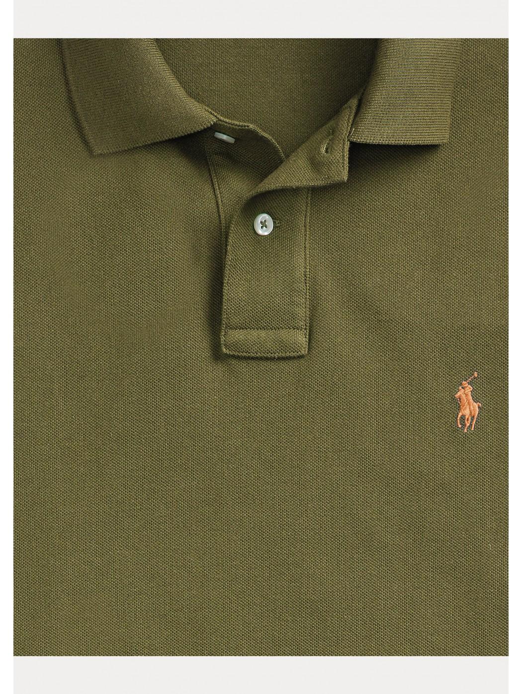 Polo in piqu' Slim-Fit POLO RALPH LAUREN UOMO 710795080 017