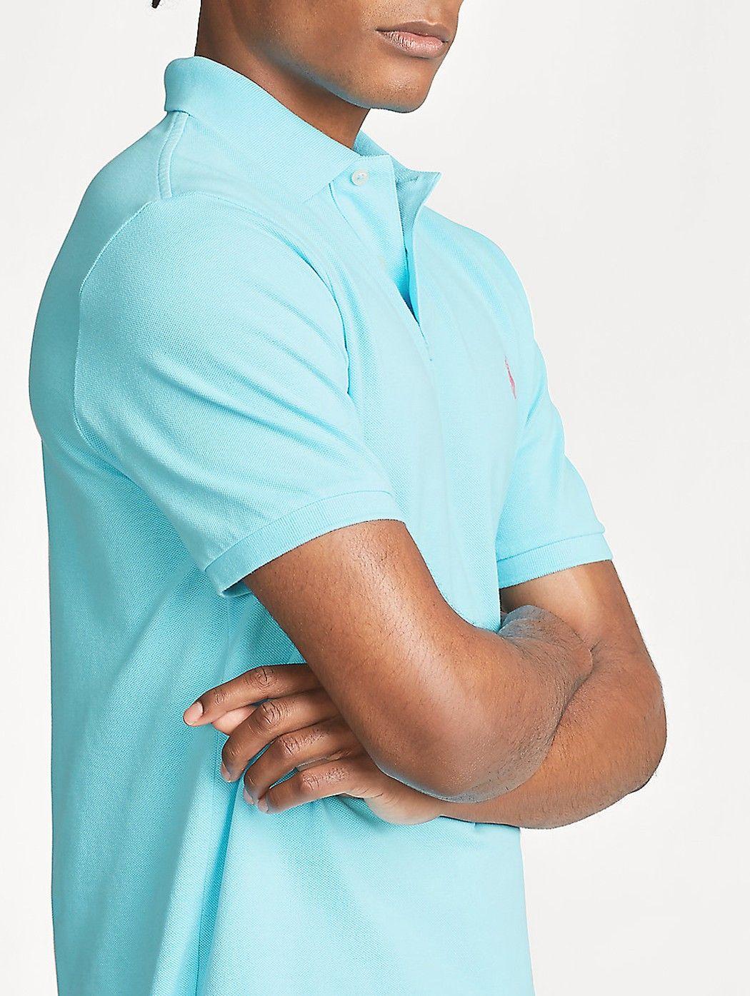 Polo in piqu' Slim-Fit POLO RALPH LAUREN UOMO 710795080 024